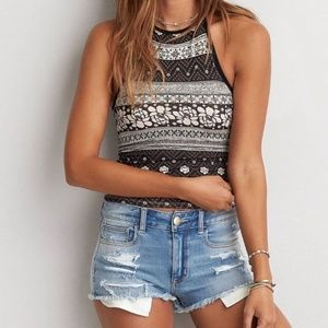 American Eagle Outfitters Tops - American Eagle Floral Boho Halter Top Soft & Sexy
